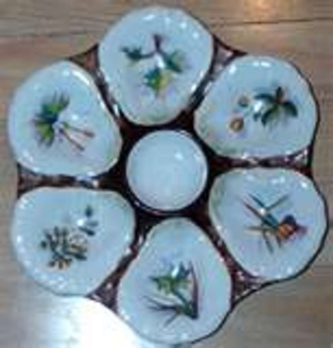 Another beautiful collectible oyster plate!