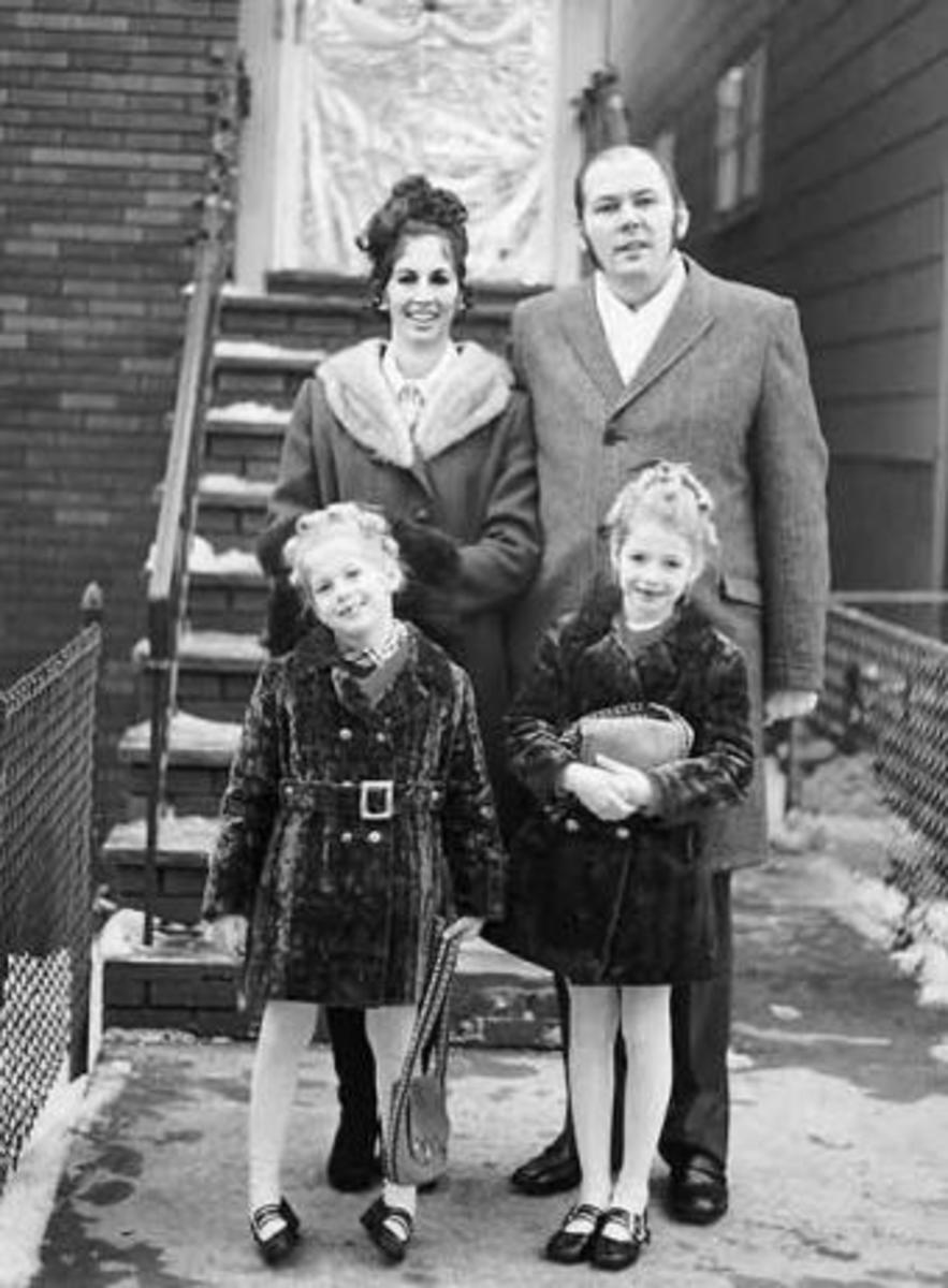 Kuklinski With His Young Family