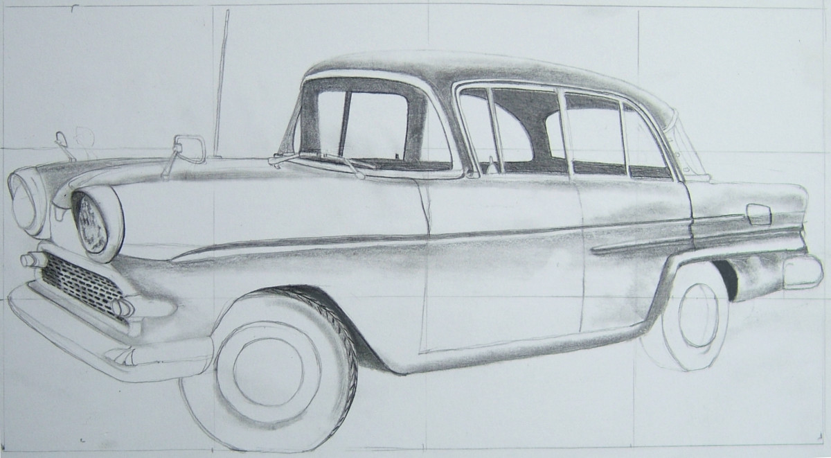 How To Draw Cars Easy HubPages - Cool cars easy to draw