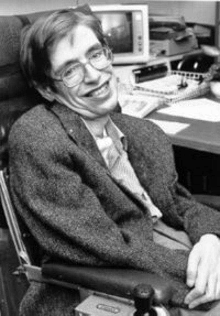 Stephen Hawking (One Of The Greatest Scientists Of Modern Times)