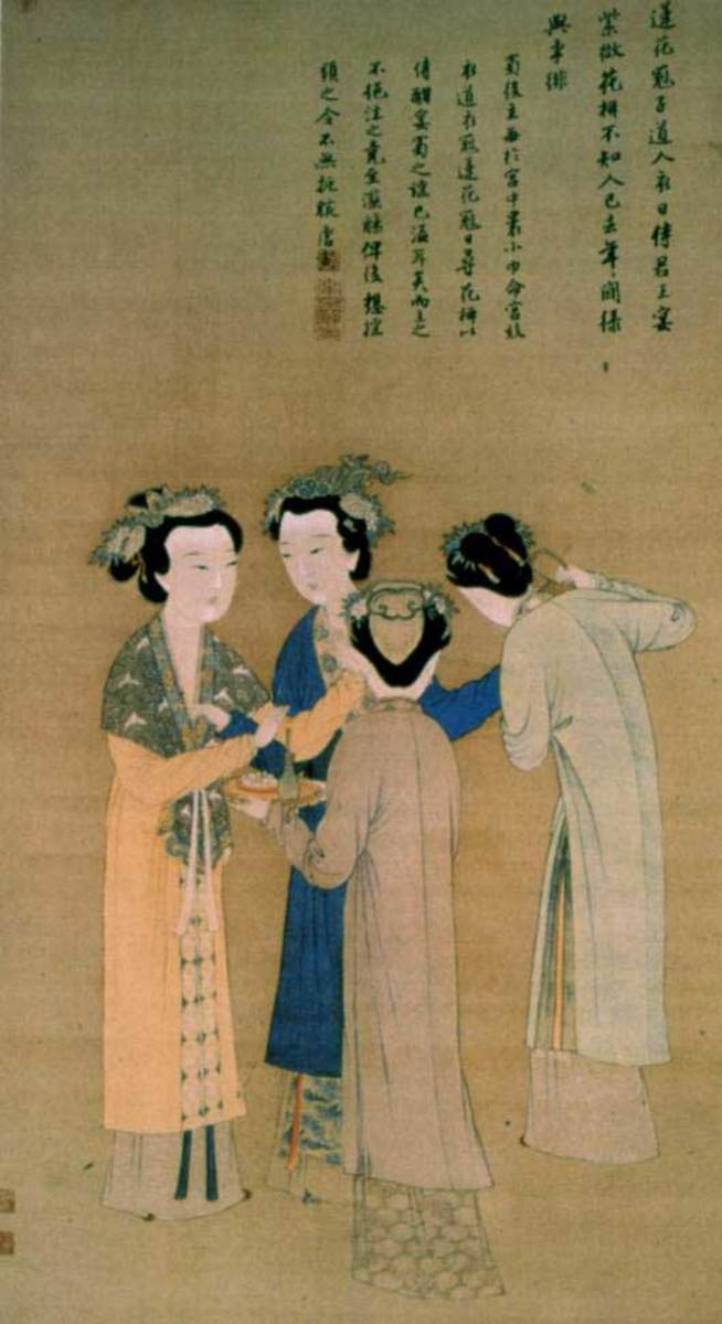 Circa AD 1400s: Women of the Ming Dynasty