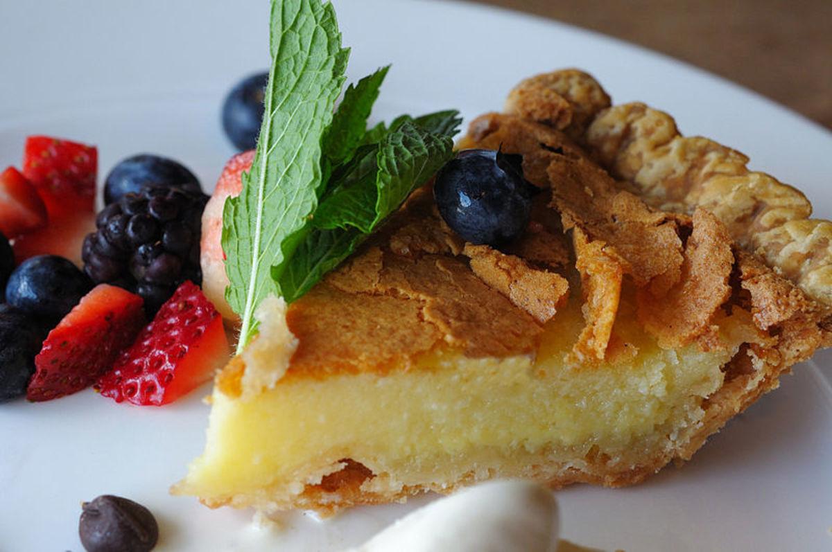 A Beatles Recipe: Admiral Halsey's Butter Pie