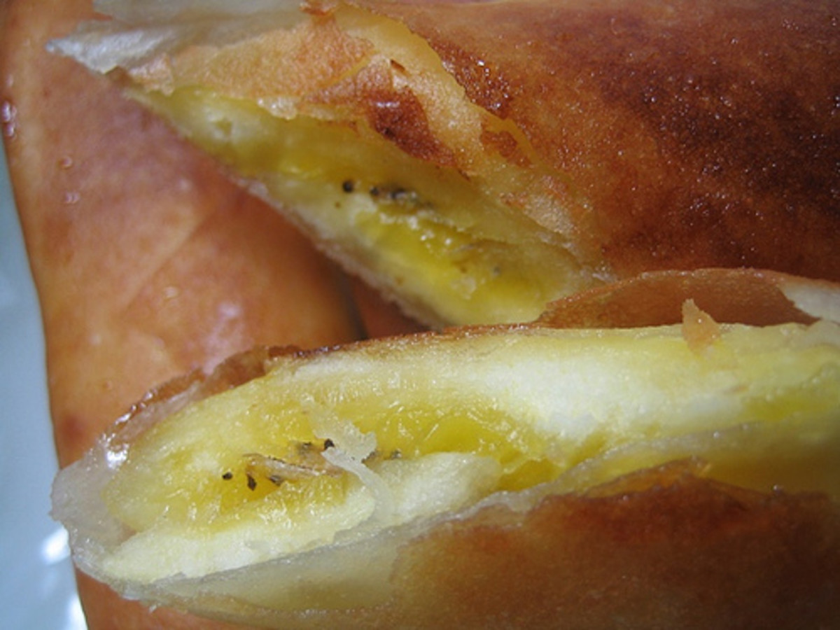 Banana Turon (Photo courtesy by wilmack from Flickr)