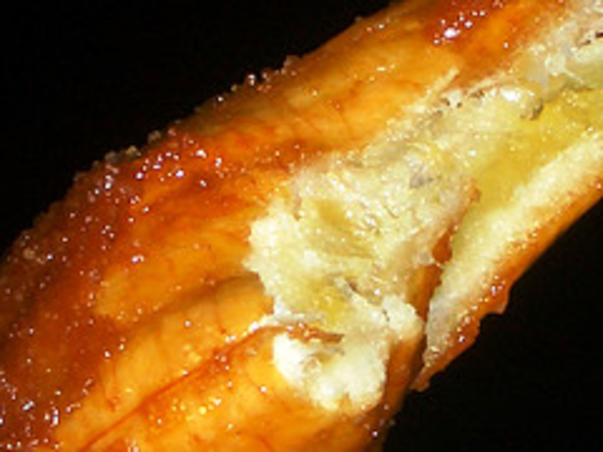 Luscious Flesh of Fried Banana (Photo courtesy by totomai from Flickr)