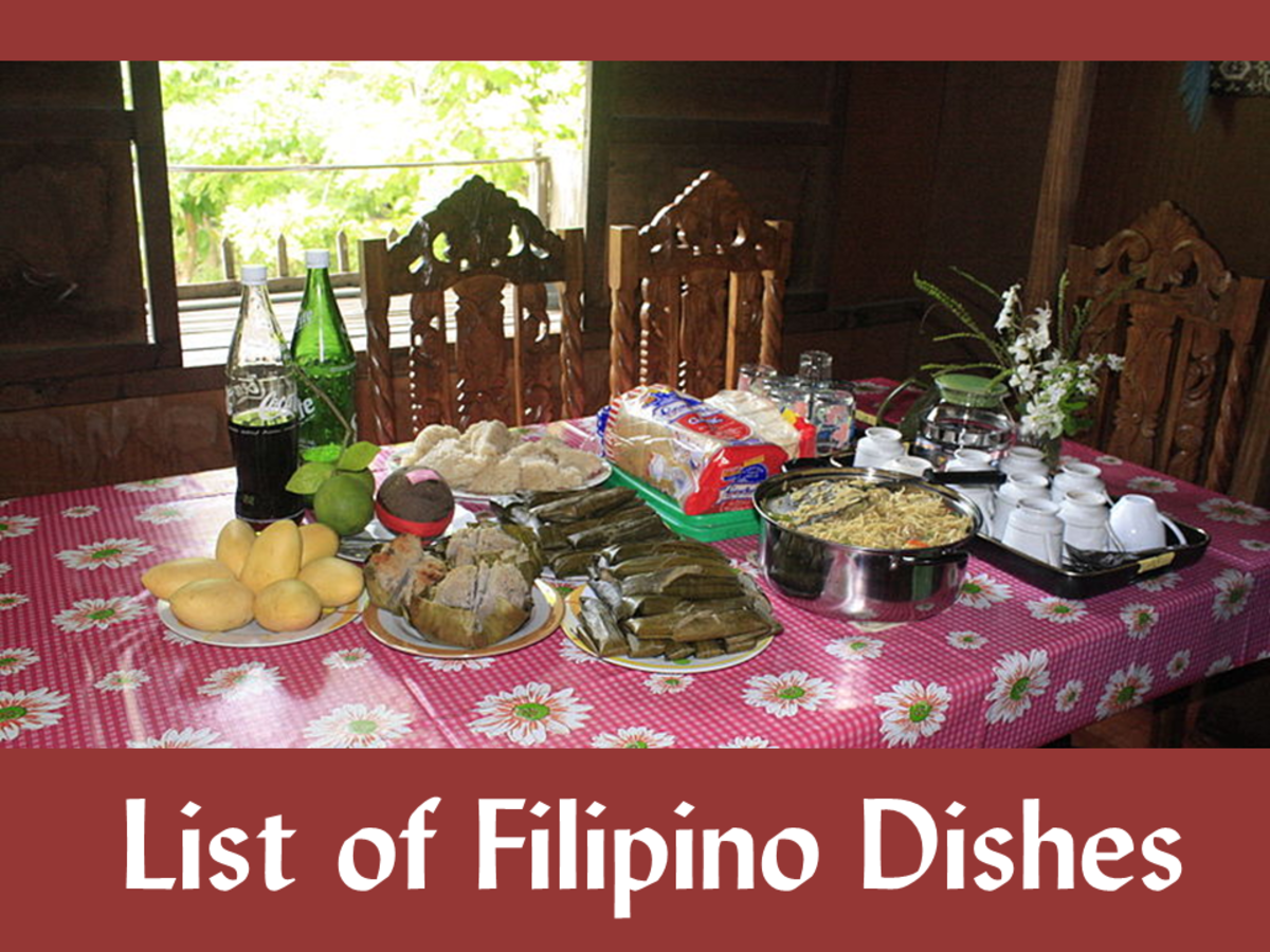 List of Filipino Dishes