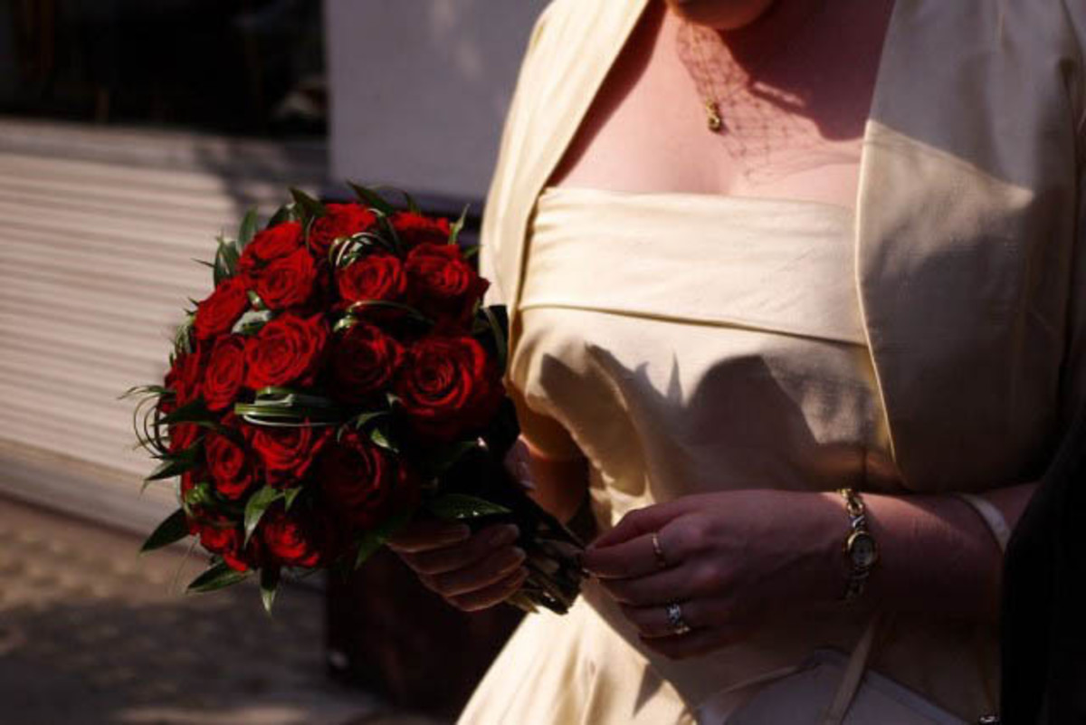 Why do wedding dresses cost so much?