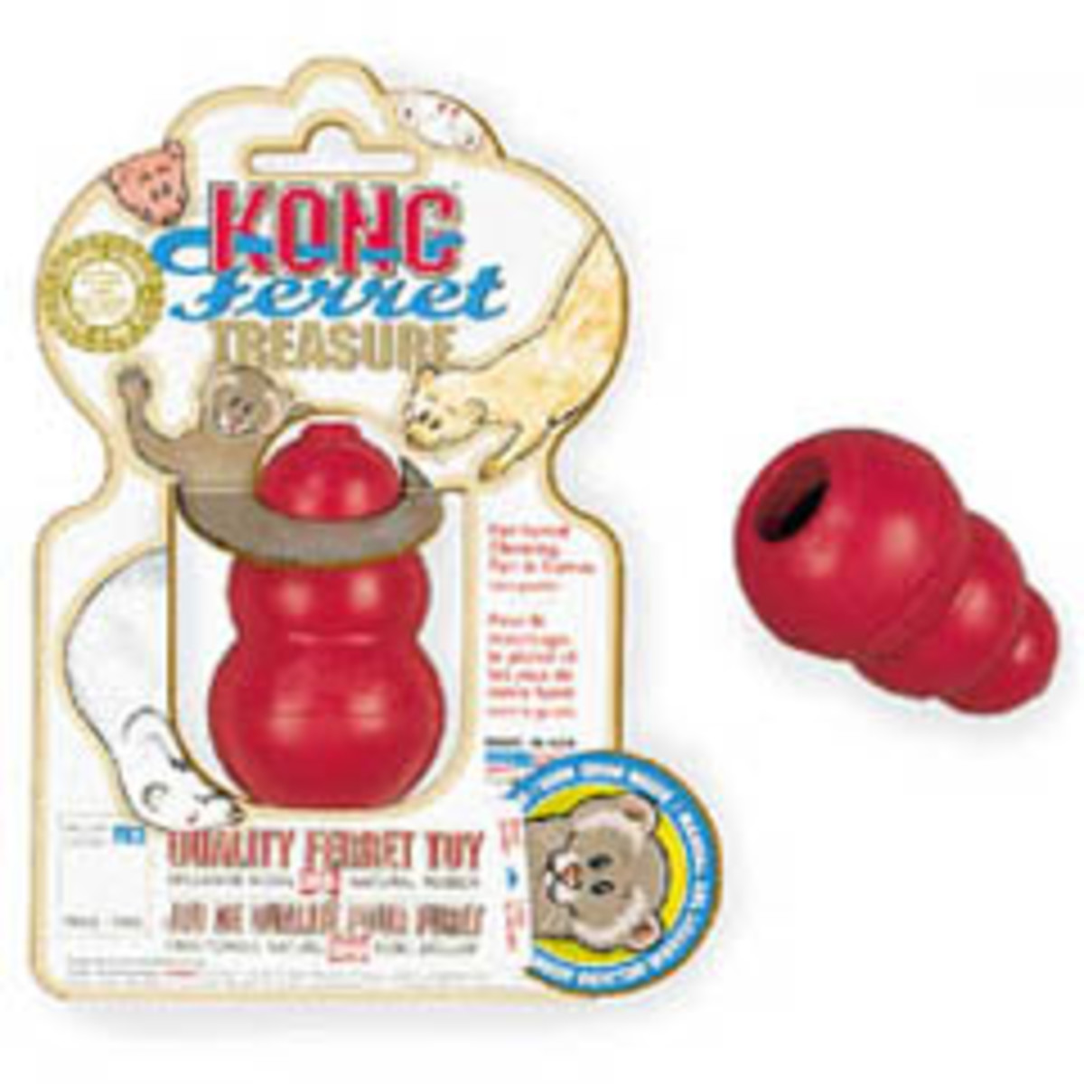 Ferret Kong Toy