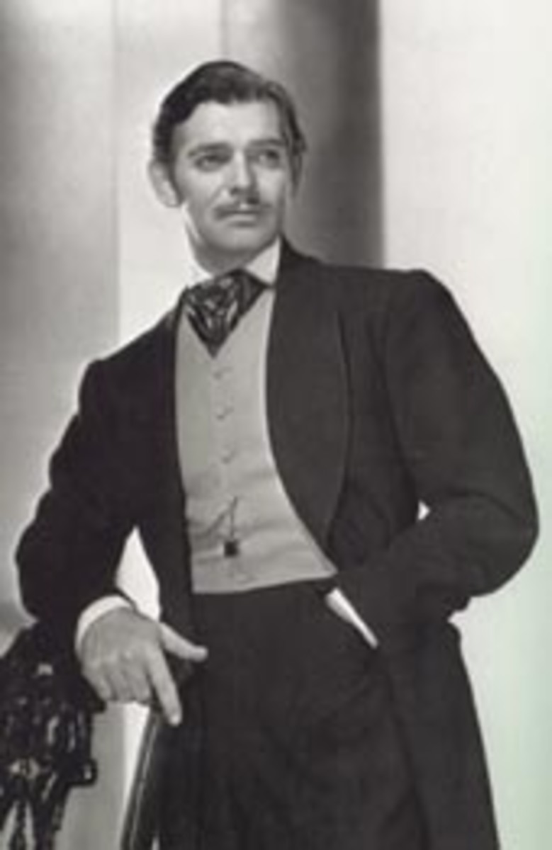 As Rhett Butler