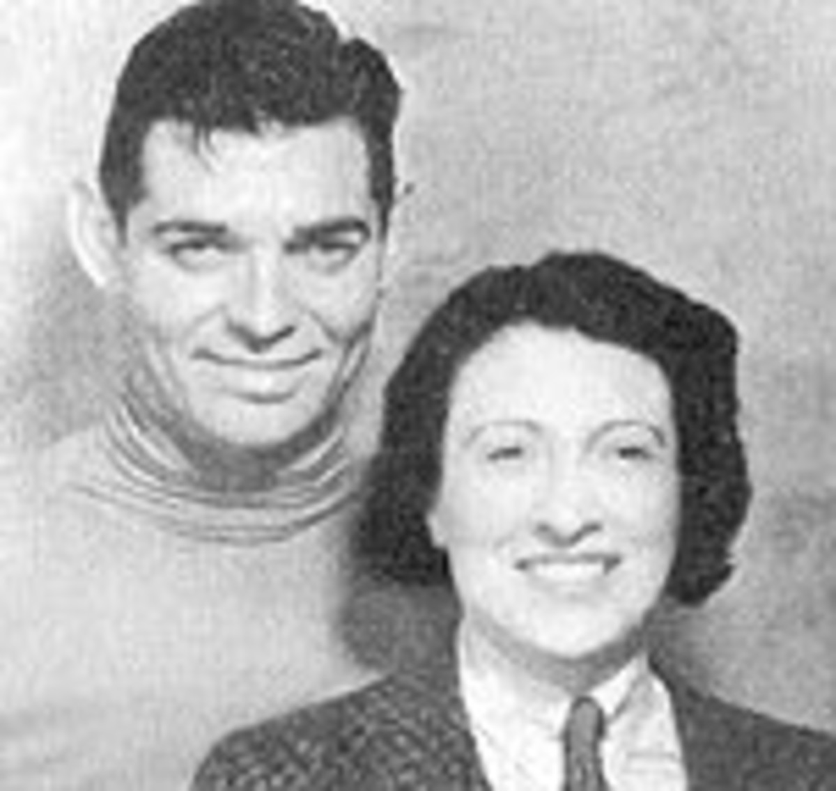 Clark and Ria in 1930