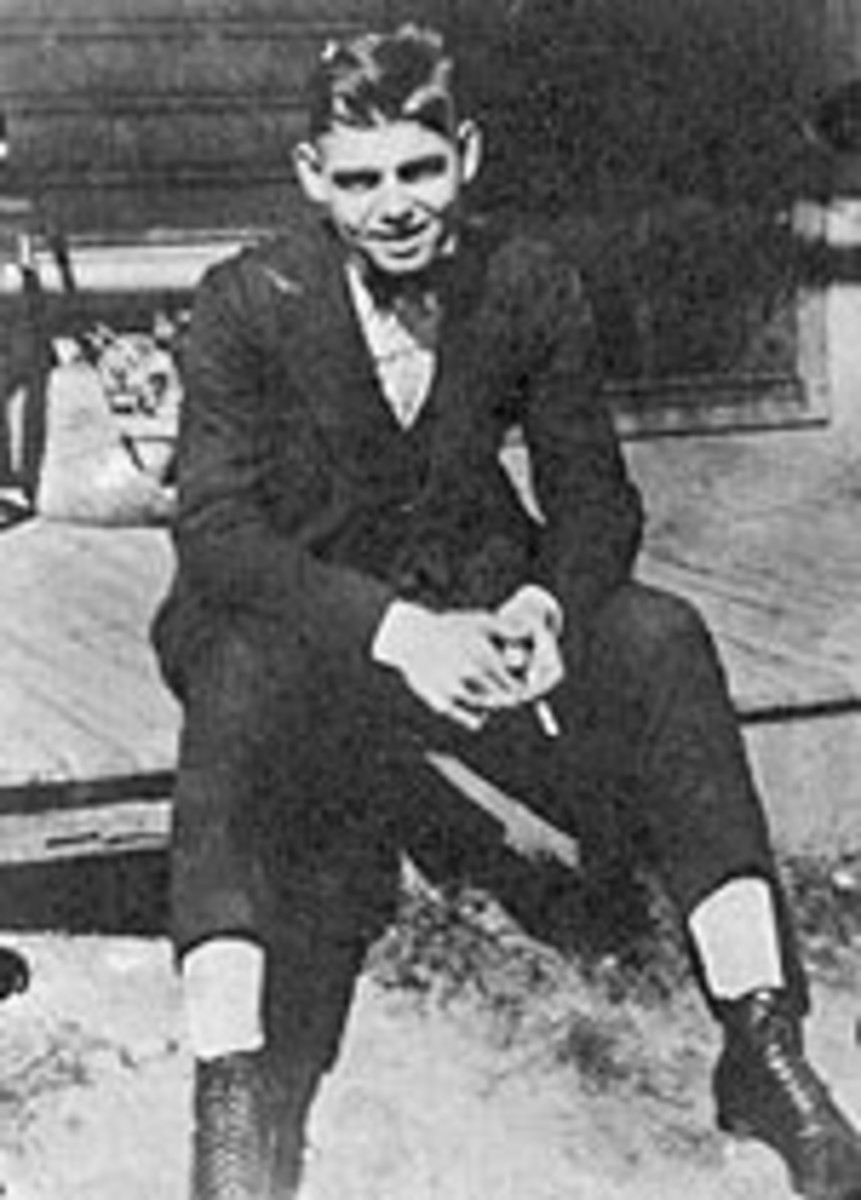 Clark at sixteen years old