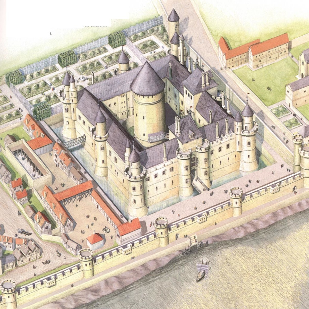 Louvre Museum in Paris. Maps, fast entrances, easy tickets, history in English