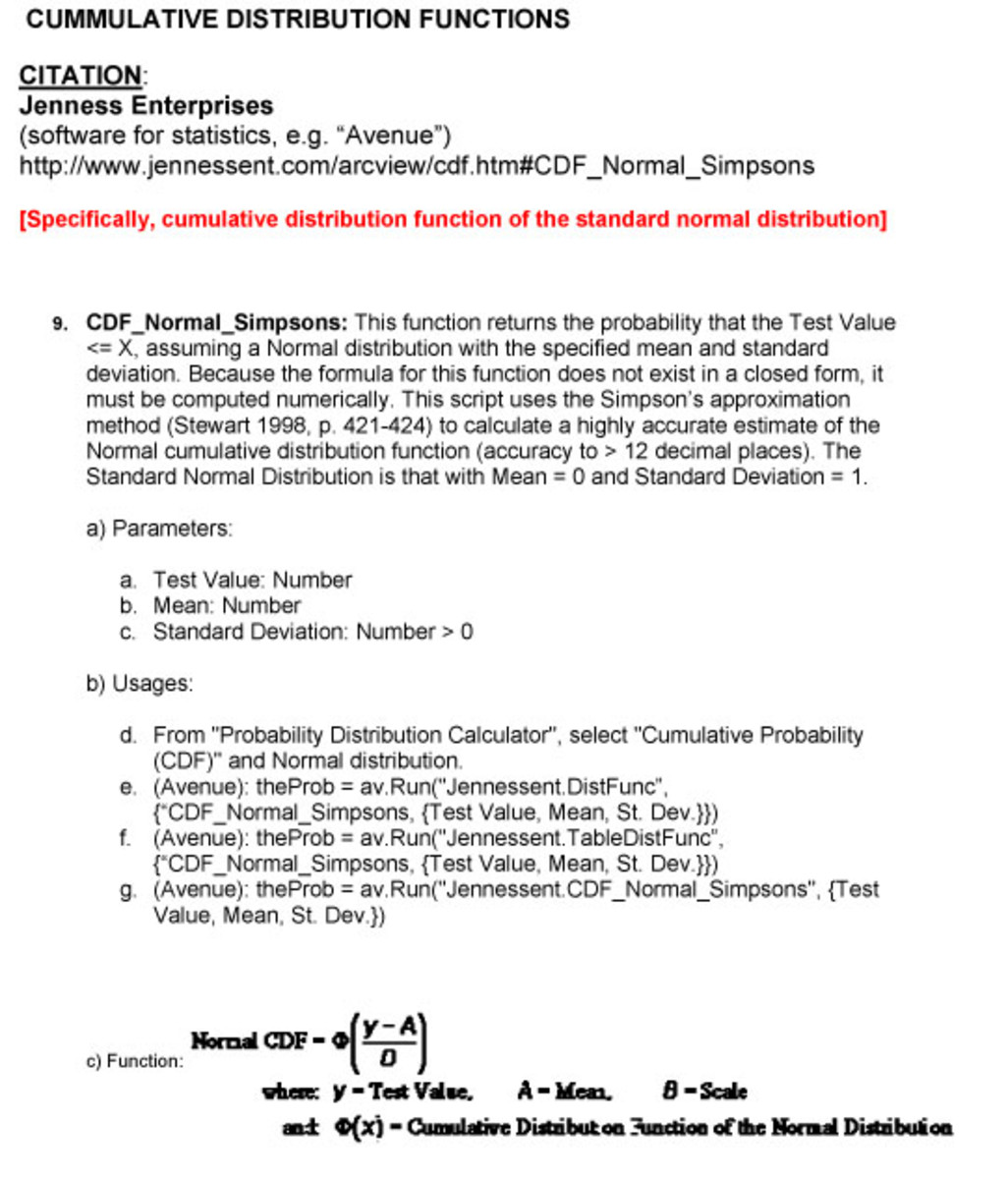 This is another useful software program to use for the CDF: Jenness Enterprises Software.