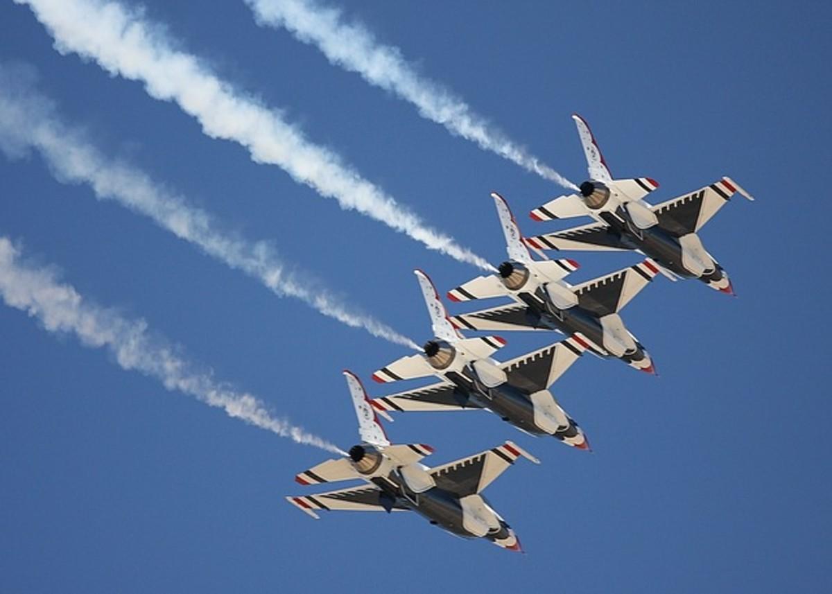 The Thunderbirds USAF Flight Drill Team