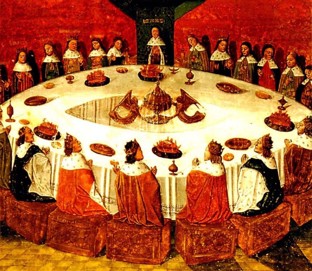 A horizontal team: King Arthur and the Knights of the Round Table