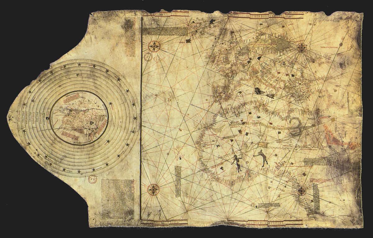 Christopher Columbus Map Voyage