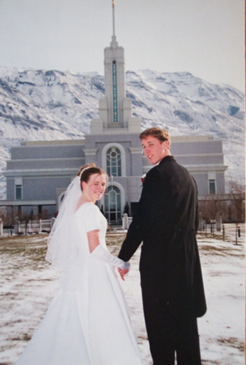 In the  LDS Temple a family can be sealed together forever.