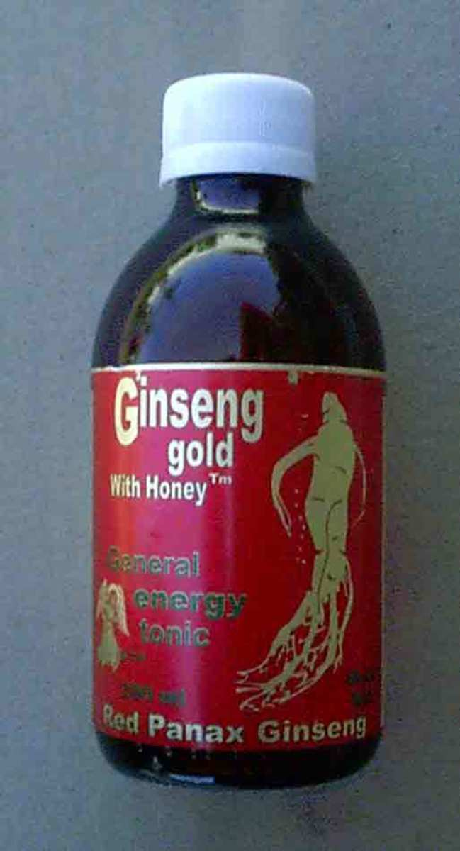 In China ginseng is used in energy drinks.