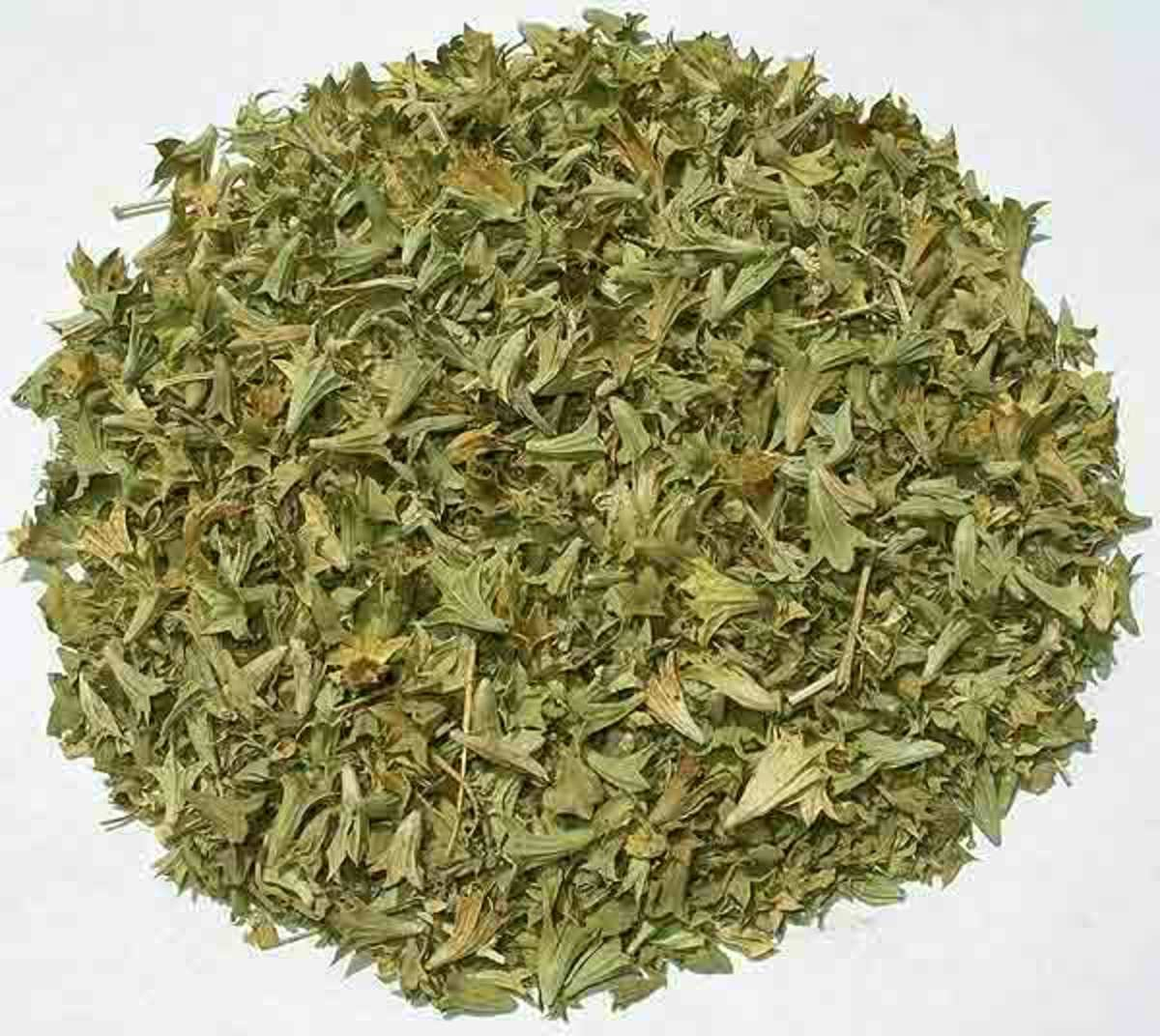 Intoxicating mint is a sedative used in some teas.