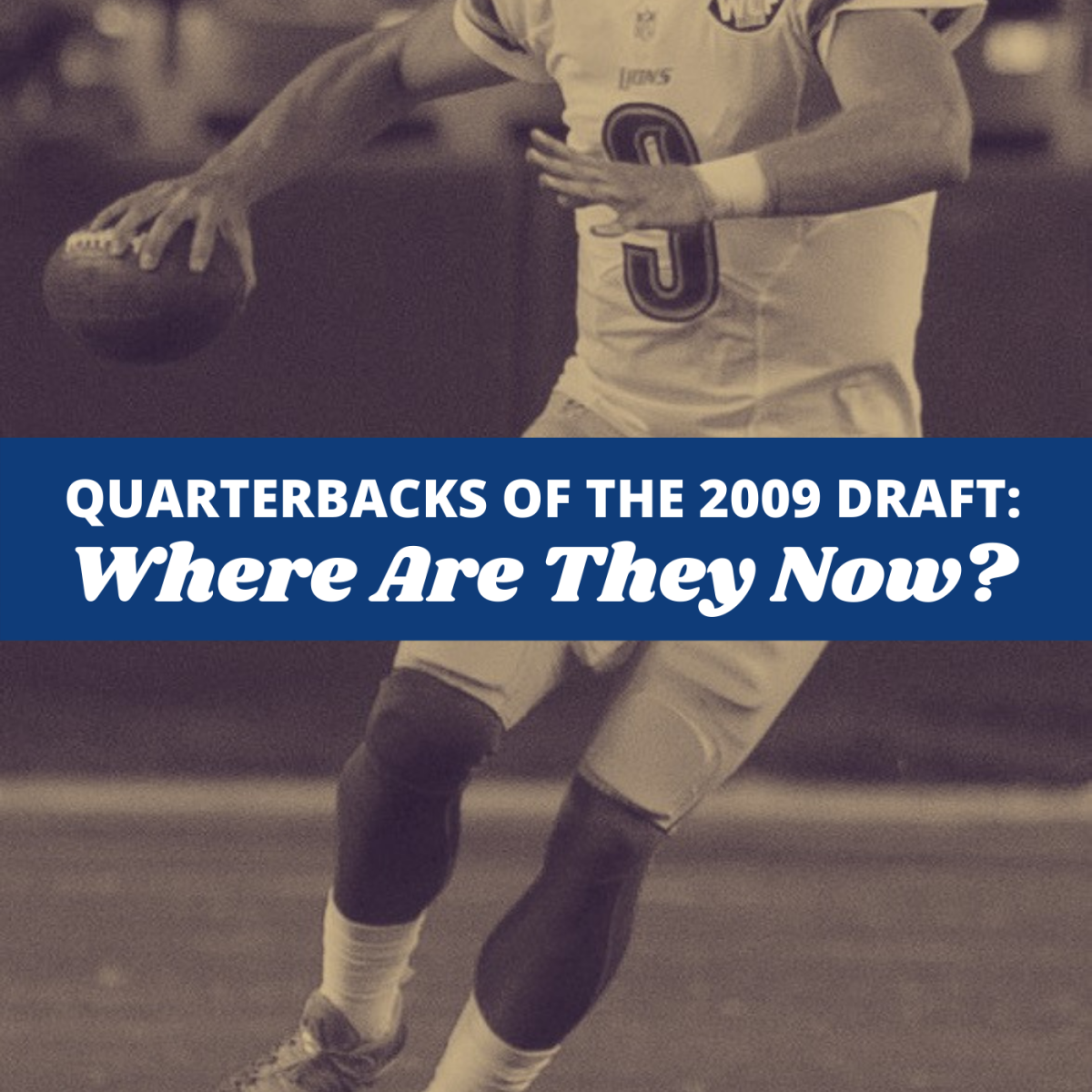 Take a look at the college and professional careers of 2009's top five draft picks for quarterback.