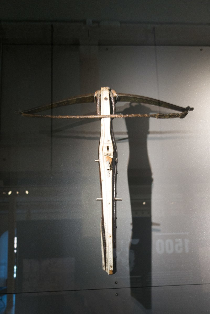 An early Chinese Crossbow often used in battle.