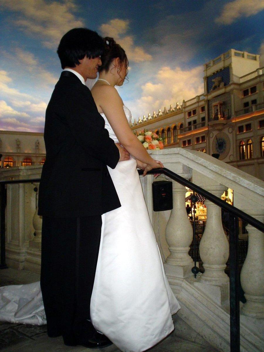 Wedding at the Venetian in Las Vegas