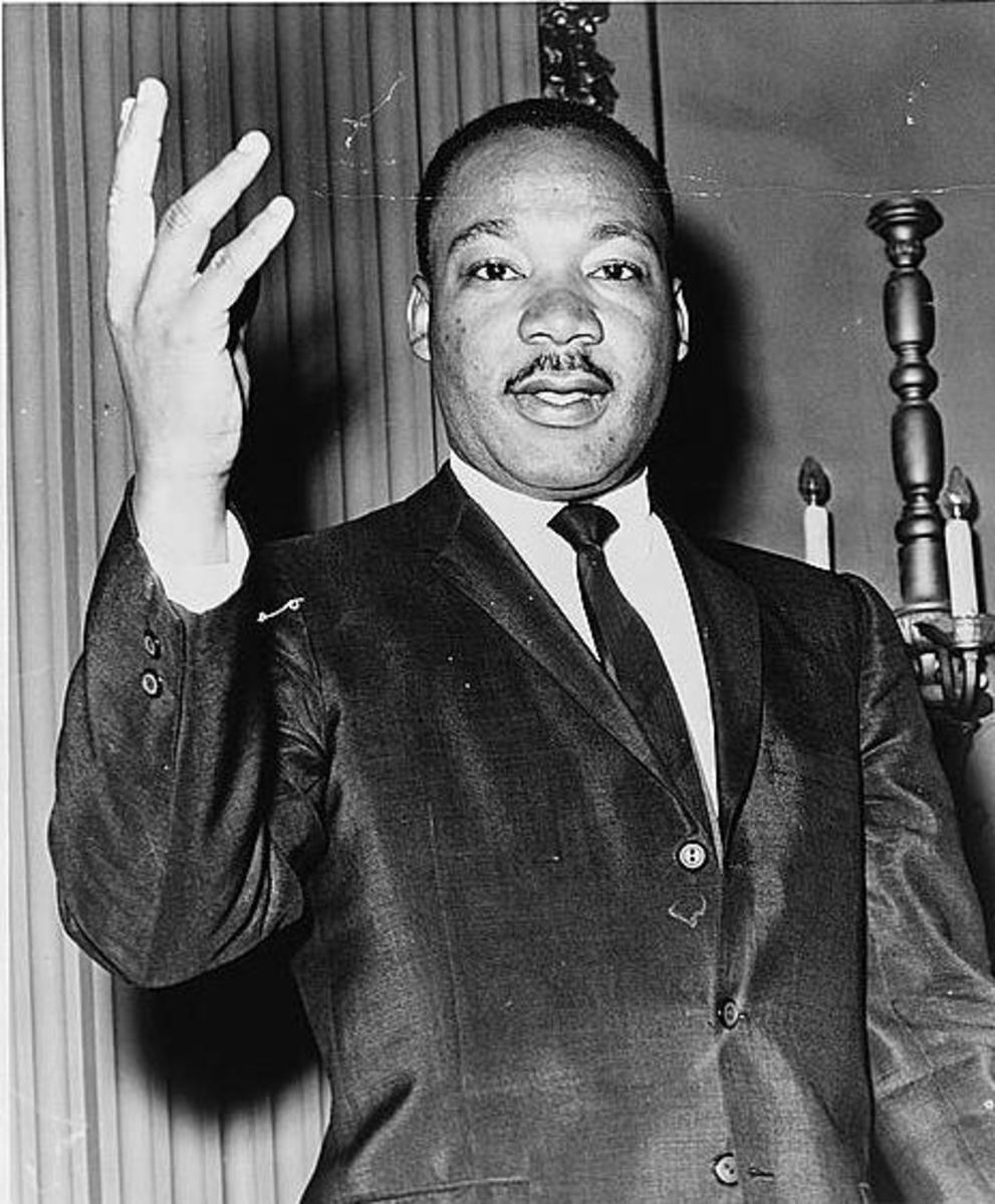 1964 Photo of Dr. Martin Luther King Jr. originally published in World Telegram & Sun newspaper & now in Library of Congress