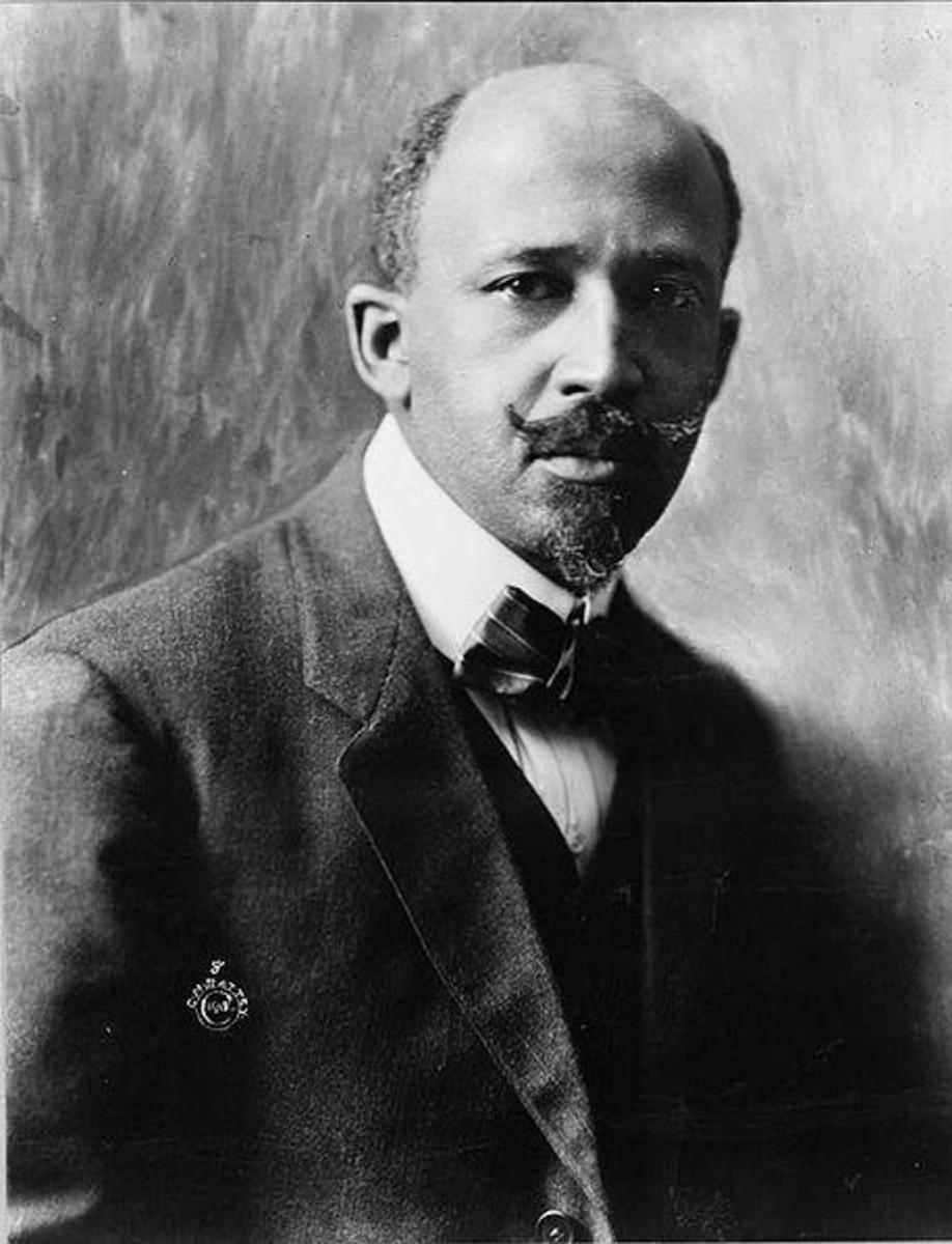 W.E.B. DuBois - One of founders of NAACP and proponent of education as vehicle for advancement African-Americans