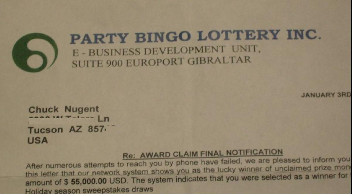 A Clever Lottery Scan and How to Avoid It