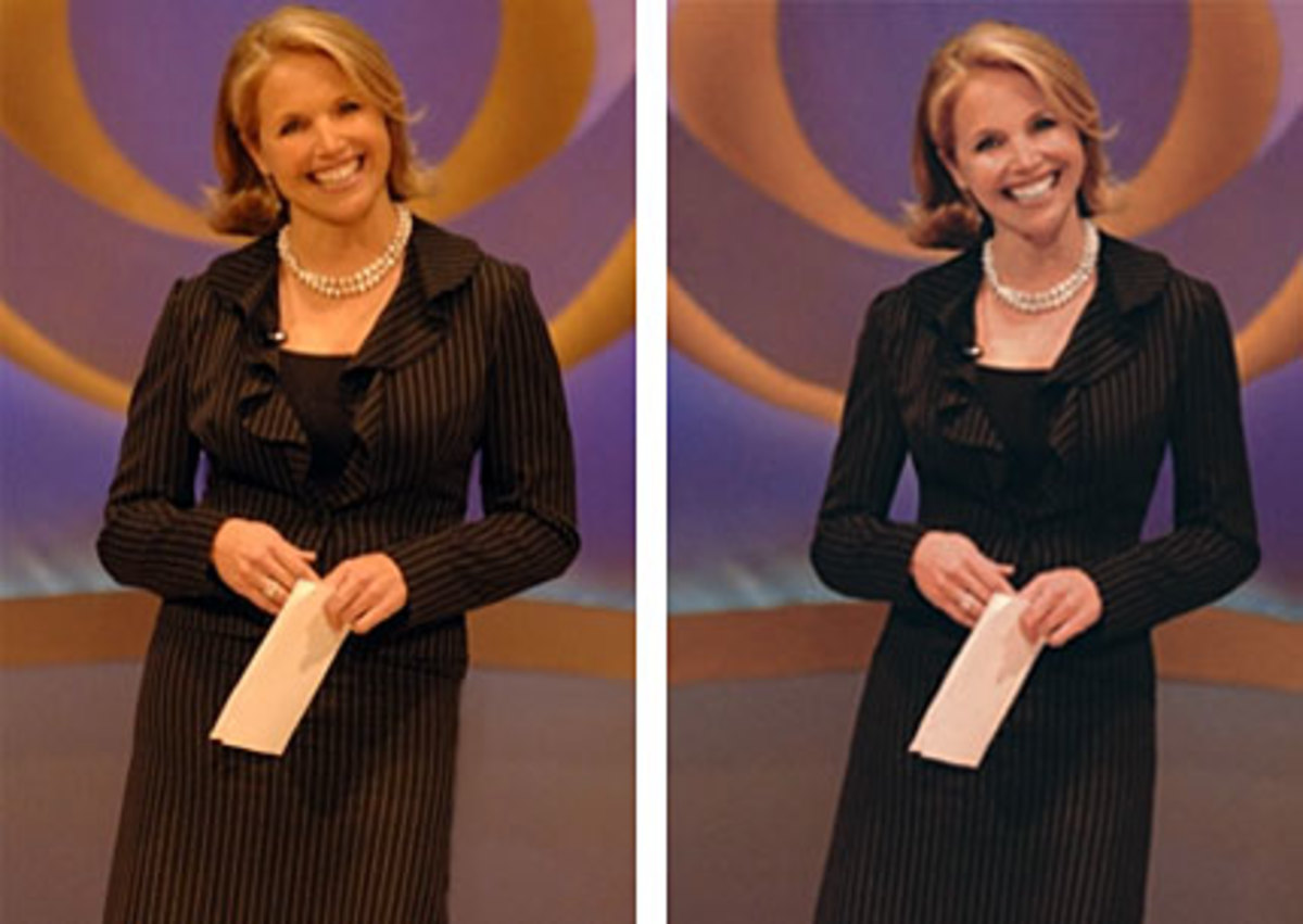 Katie Couric made slimmer