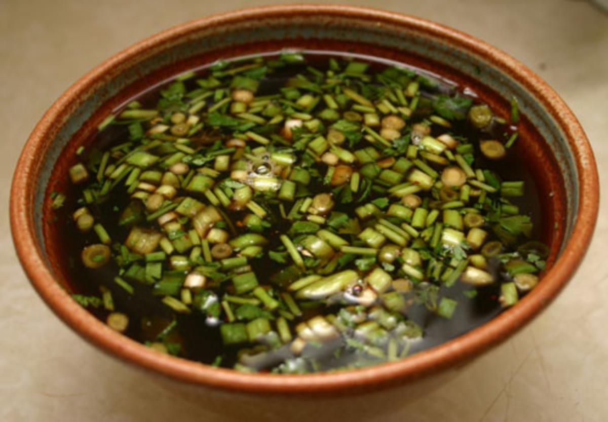 prepared Mongolian barbecue sauce
