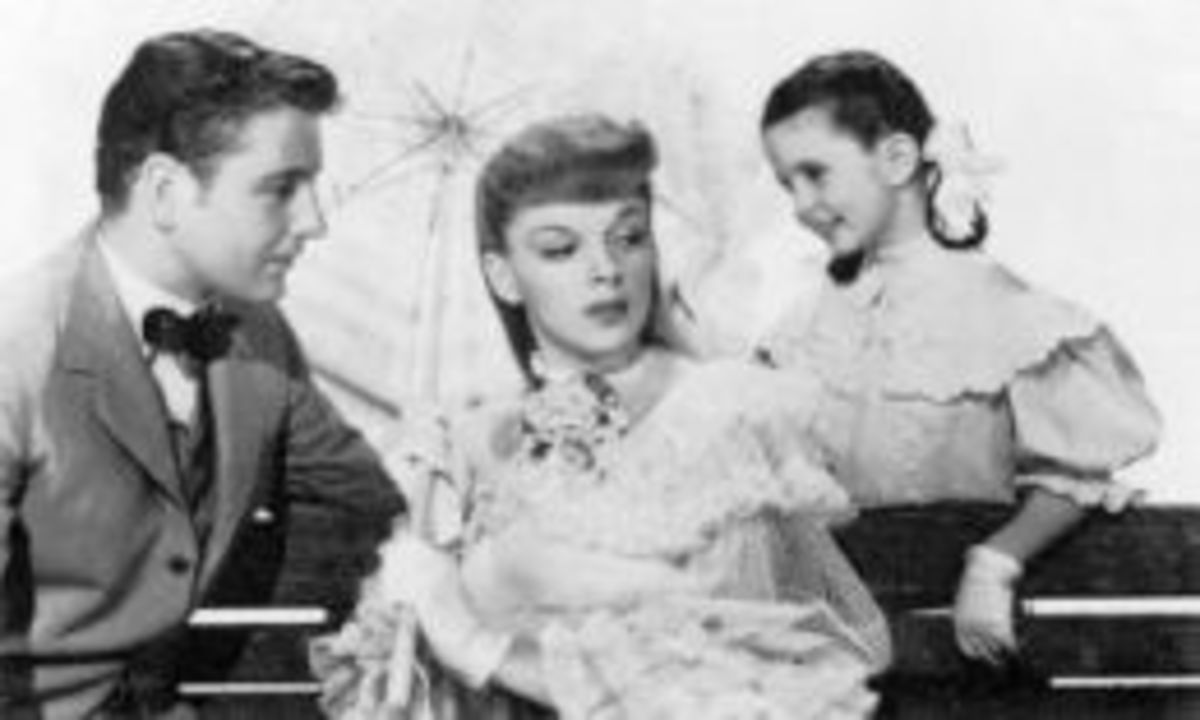 With Tom Drake and Margaret O'Brien for Meet Me In St Louis