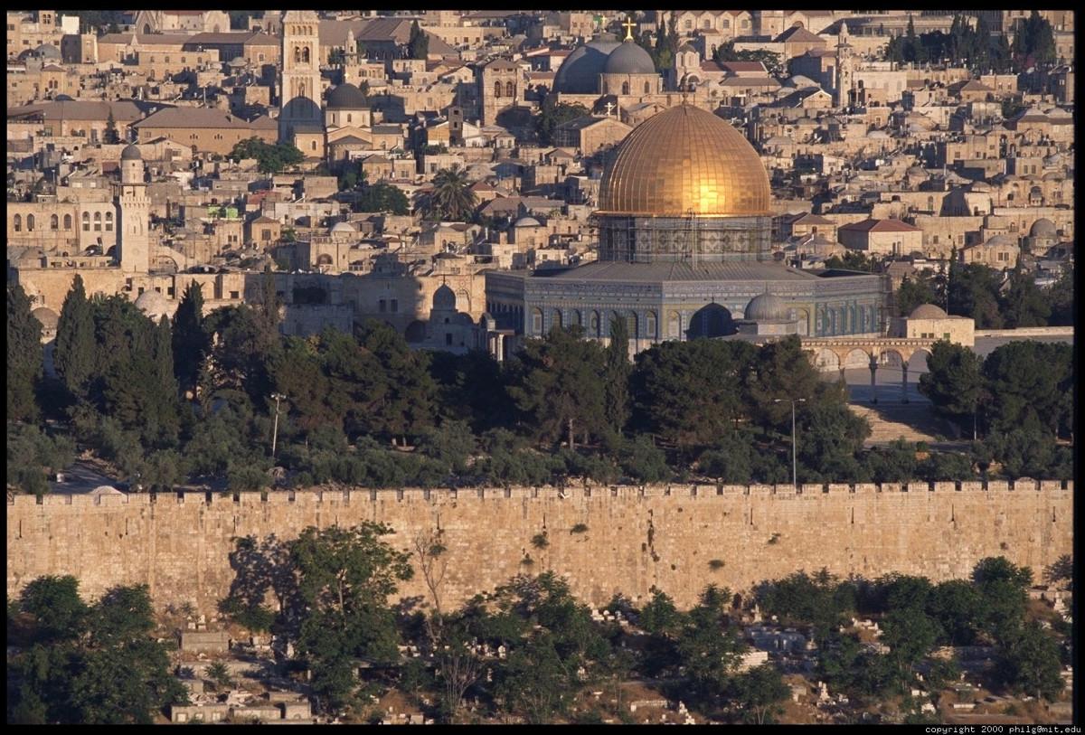 Jerusalem, the Holy City of three major faiths.