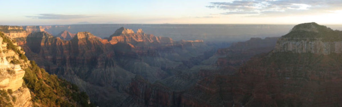 Flying above the Grand Canyon makes one gasp in awe.