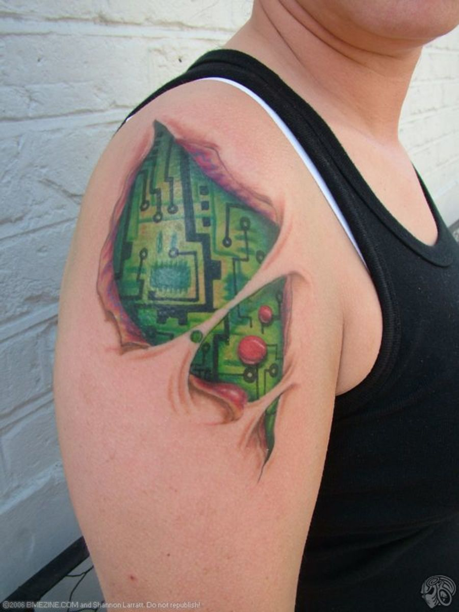Tattoo Ideas: Geeks (Video Games, Math, DNA)