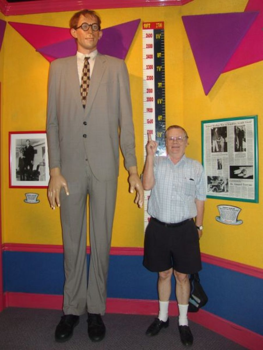 The exhibits at Ripley's Believe It or Not! are fascinating, but not for the weak-stomached