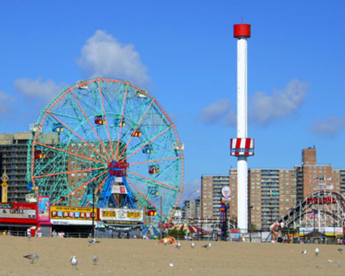 A trip out to Brooklyn's Coney Island is a perfect way to spend the day