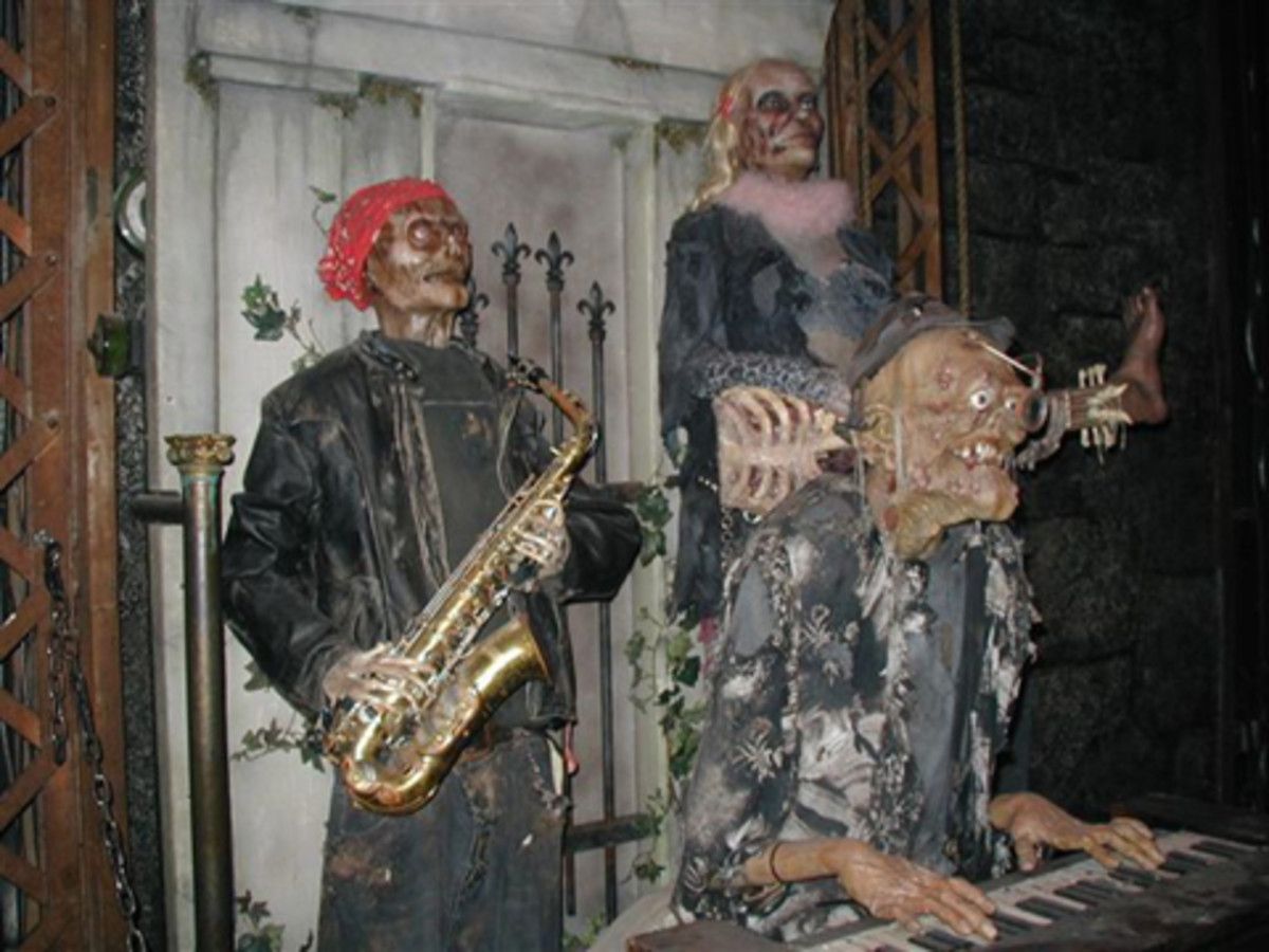The creatures at Jekyll & Hyde are just plain freaky