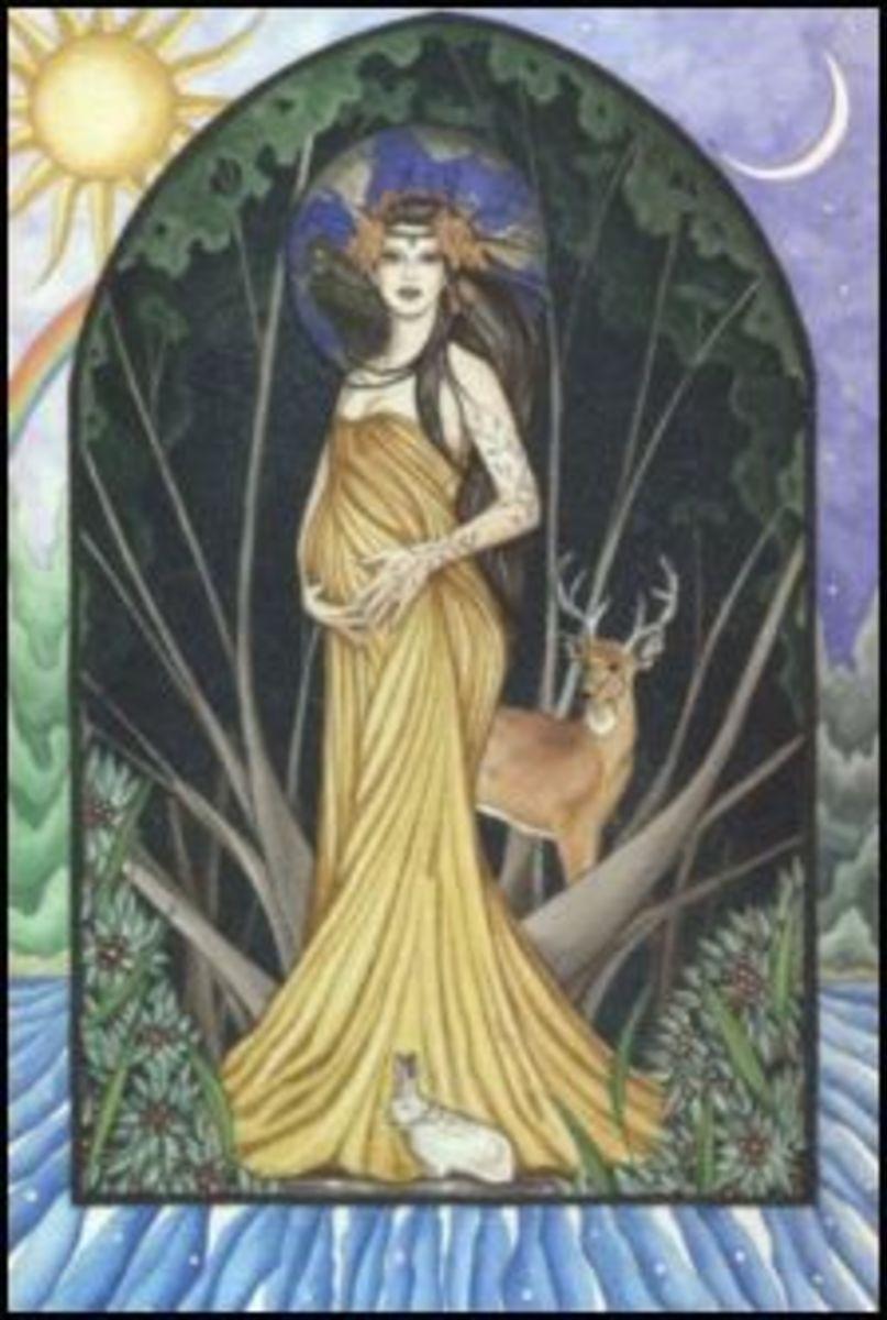 mother earth  goddess
