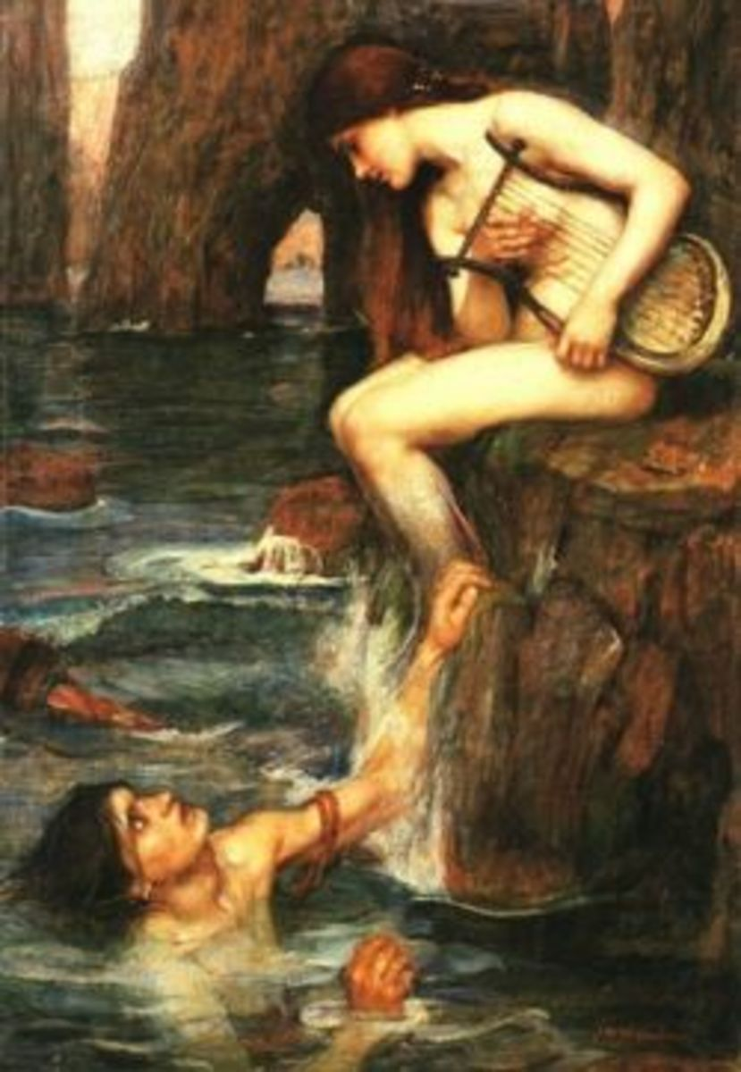 An enchanting Siren