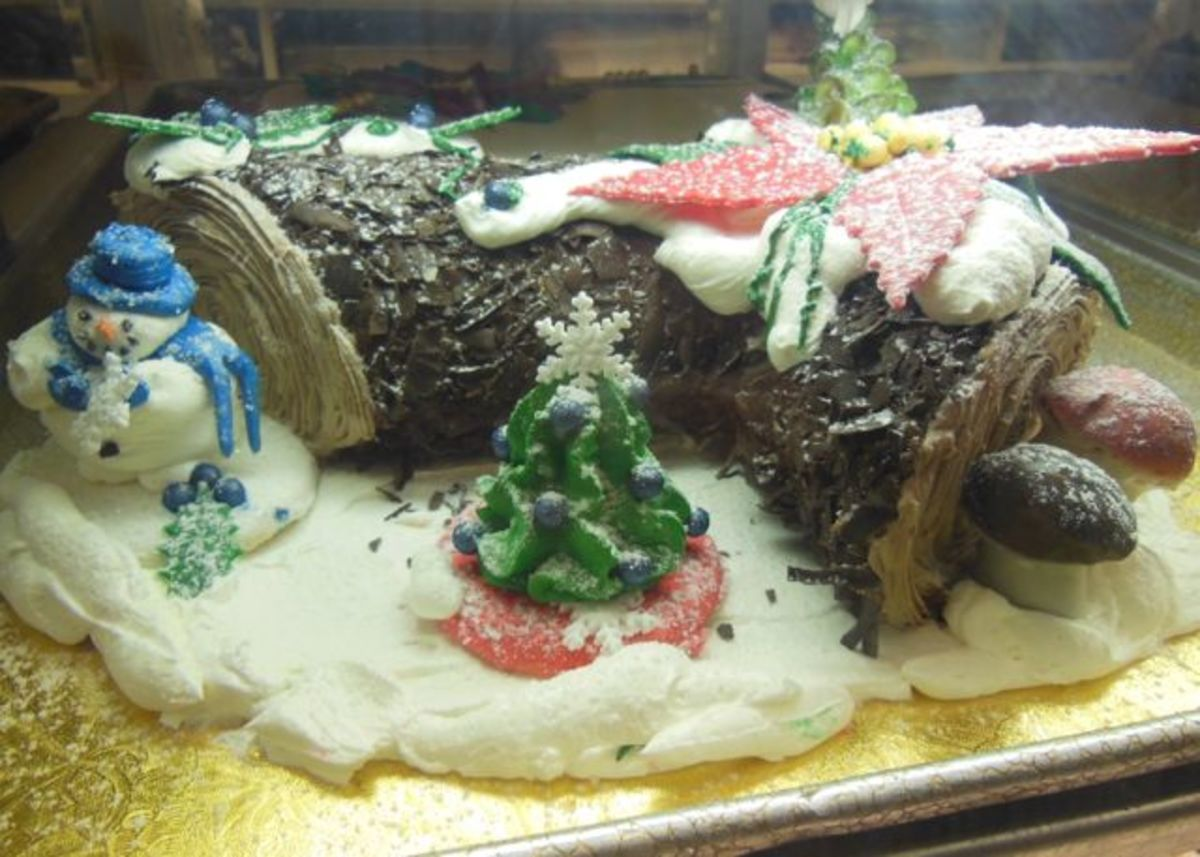 Bake a Yule Log Cake - Recipes & Frosting