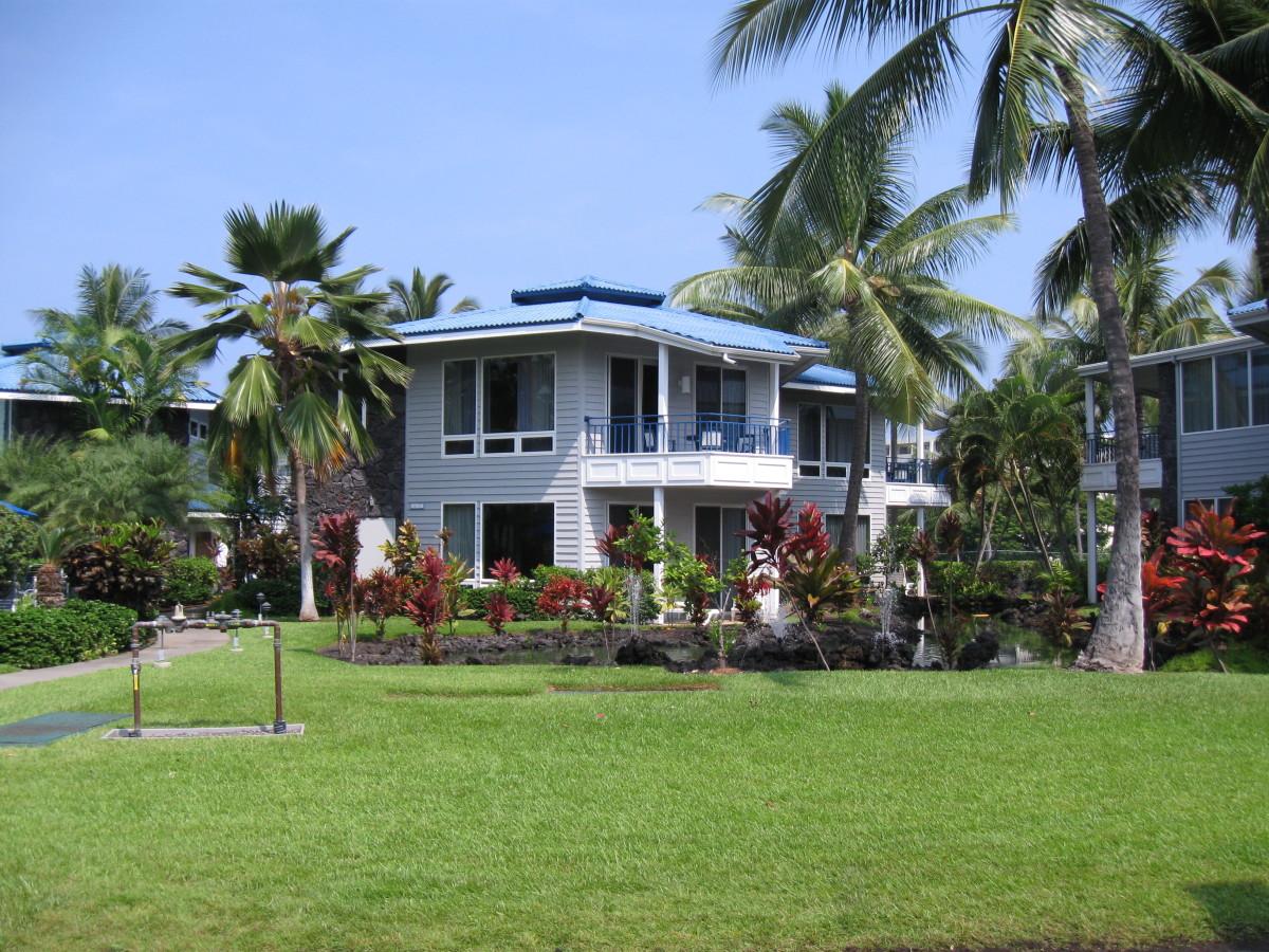 Shell Vacations Holua Resort at Mauna Loa Vllg on big Island of Hawaii