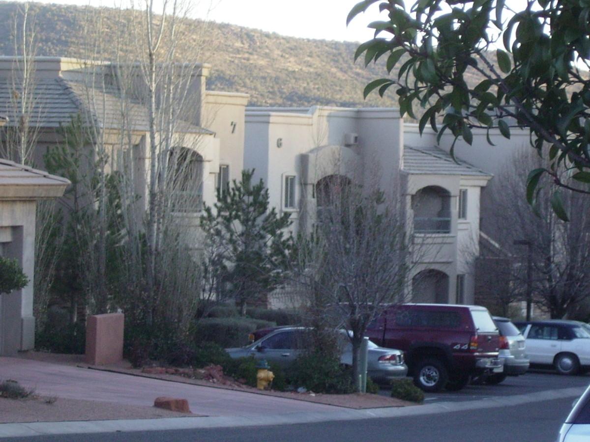 Diamond International Vacation Timeshare Resort in Sedona, Arizona.