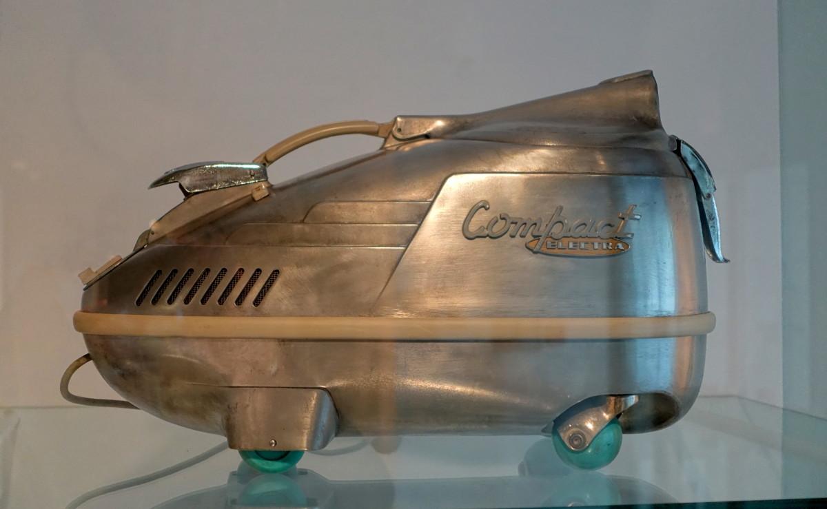 Antique Electra vacuum cleaner (Model C6EPB) from 1955.
