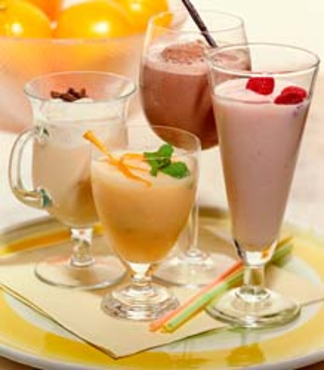 Blended Drinks & Alcoholics Smoothies Recipes