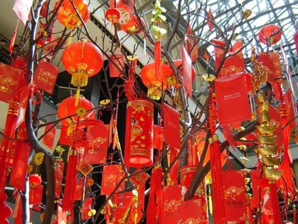Chinese Wishing Tree