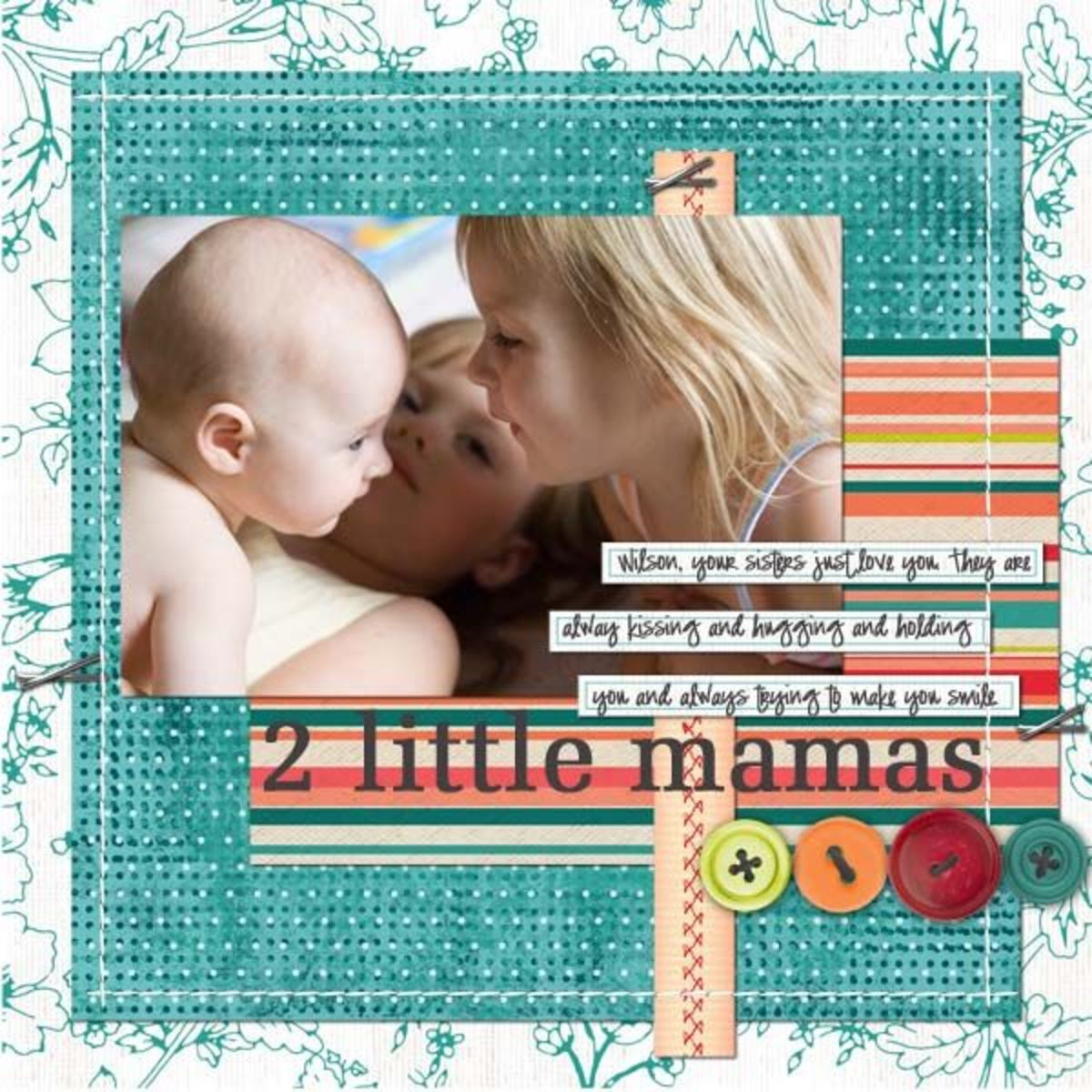 Scrapbooking Ideas and Inspiration -- Scraplifting
