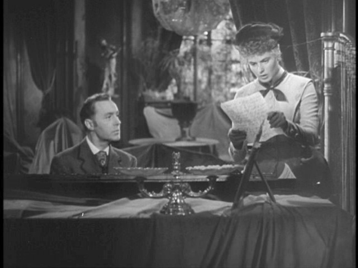 "In the film ""Gaslight"", the husband did everything he could to make his wife think she was becoming insane."