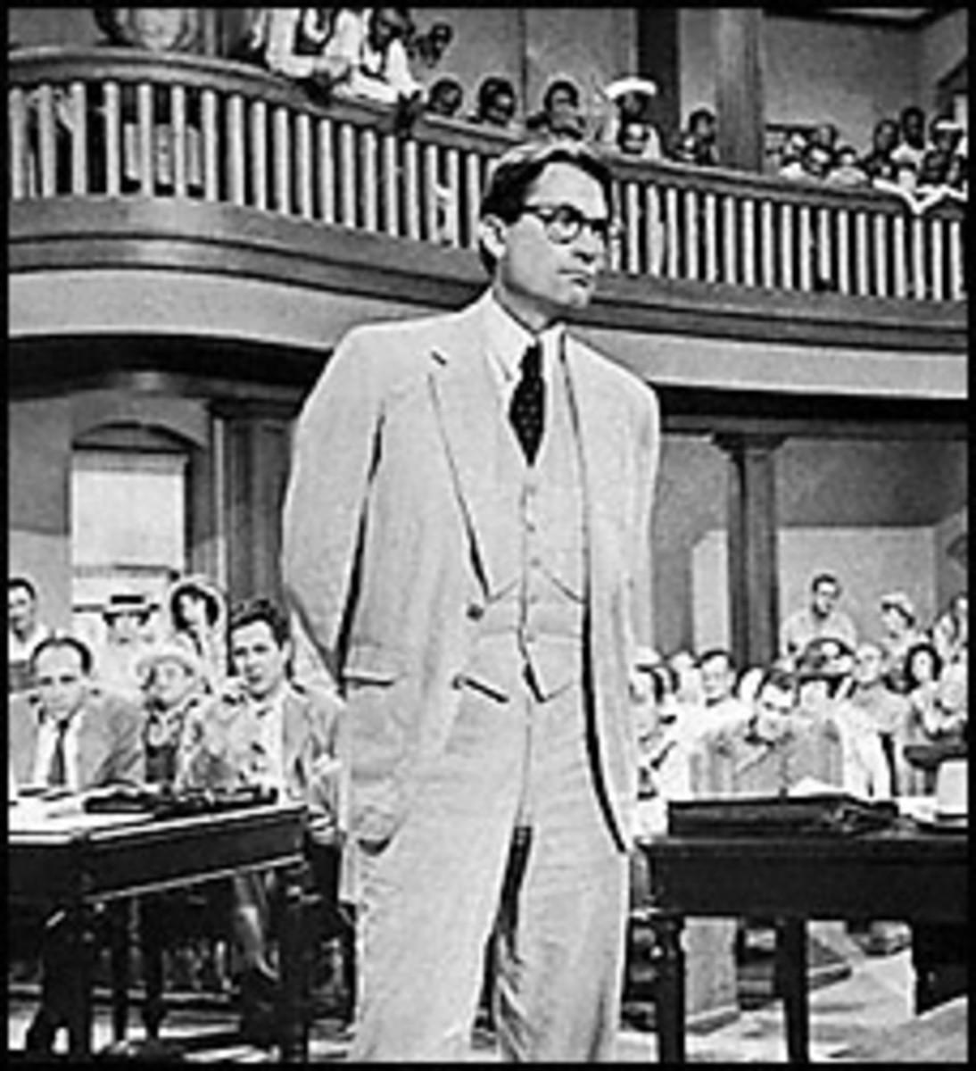 As Atticus Finch