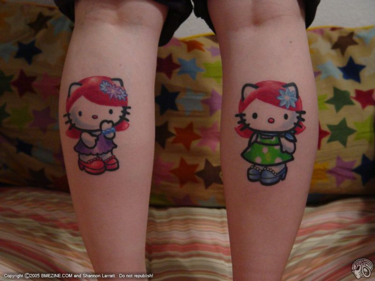 Hello Kitty Tattoo,Tattoo Sexy Girls,Art Tattoo,Design Tattoo,Lovely Tattoo
