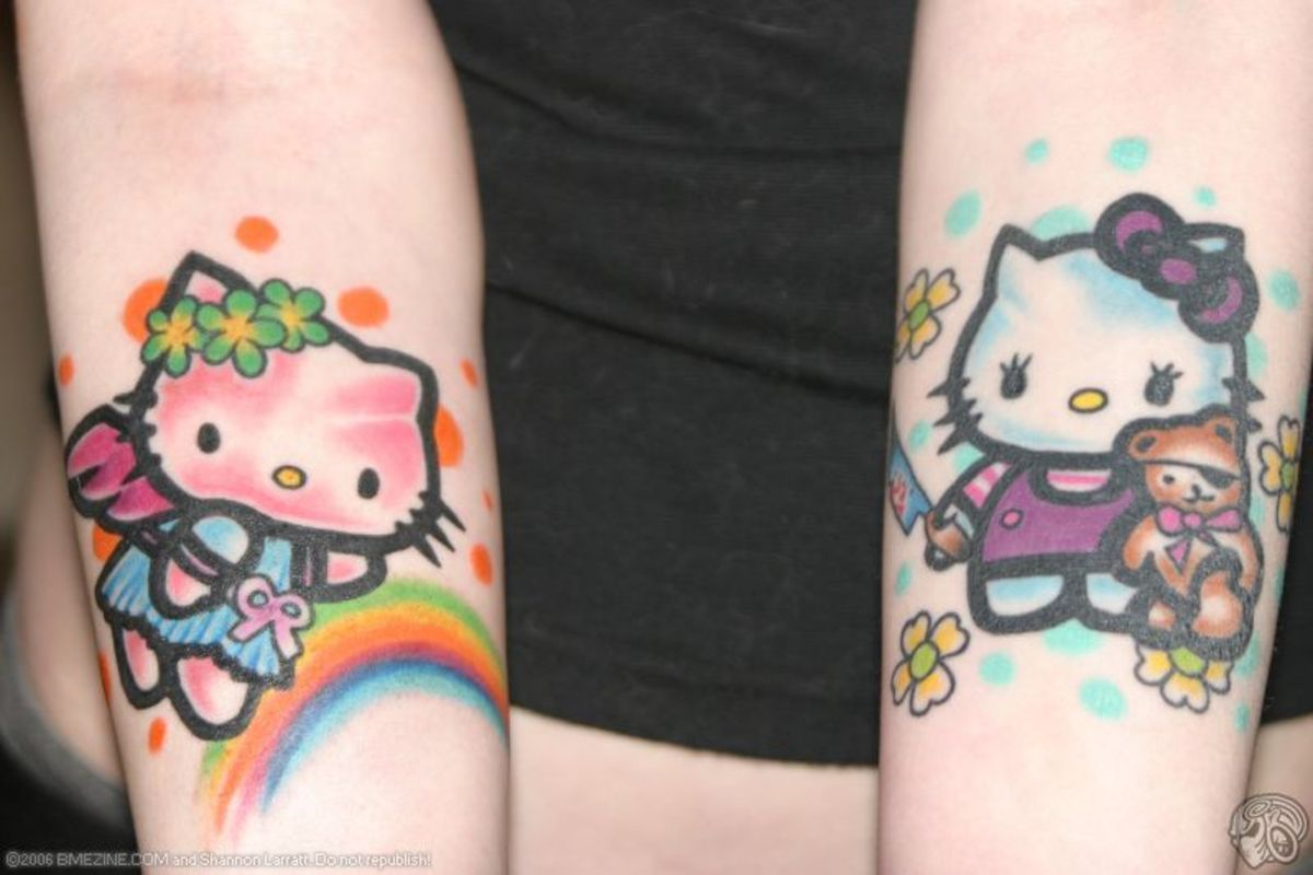 Hello Kitty Tattoo Ideas